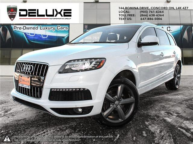 2015 Audi Q7 3.0T Sport (Stk: D0524) in Concord - Image 1 of 24