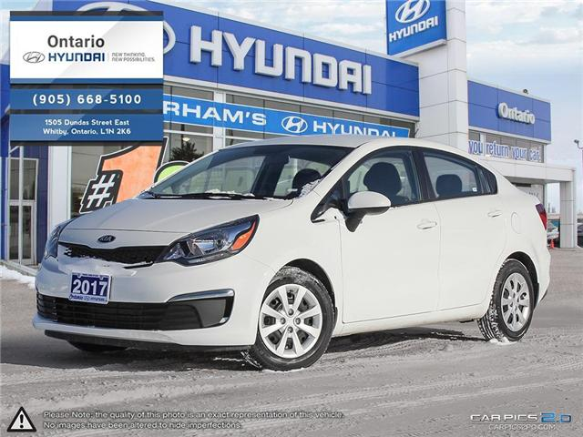 2017 Kia Rio LX+ / Reduced Price (Stk: 13341K) in Whitby - Image 1 of 27