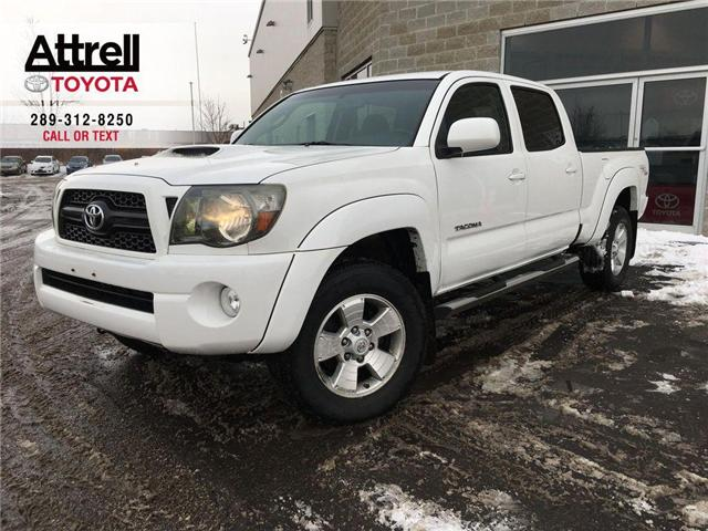 2011 Toyota Tacoma TRD DOUBLE CAB HOOD SCOOP, 4X4, ALLOYS, FOG LAMPS, (Stk: 43123A) in Brampton - Image 1 of 25