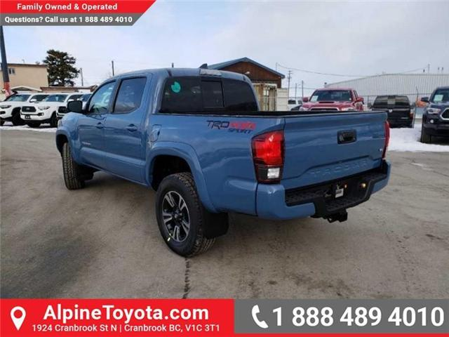 2019 Toyota Tacoma TRD Sport (Stk: X178064) in Cranbrook - Image 3 of 18