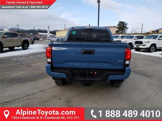 2019 Toyota Tacoma TRD Sport (Stk: X178064) in Cranbrook - Image 4 of 18