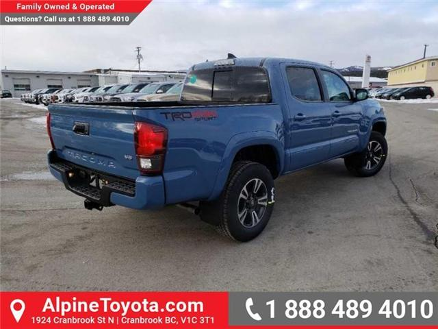 2019 Toyota Tacoma TRD Sport (Stk: X178064) in Cranbrook - Image 5 of 18