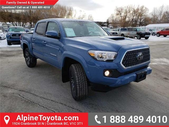 2019 Toyota Tacoma TRD Sport (Stk: X178064) in Cranbrook - Image 7 of 18