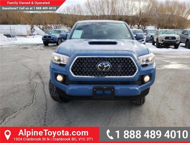 2019 Toyota Tacoma TRD Sport (Stk: X178064) in Cranbrook - Image 8 of 18