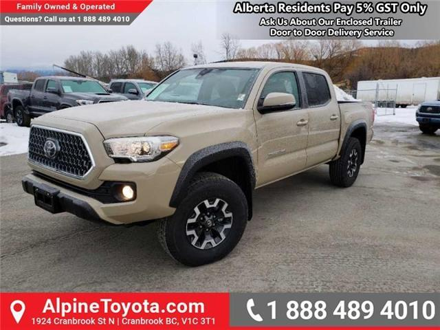 2019 Toyota Tacoma TRD Off Road (Stk: X178637) in Cranbrook - Image 1 of 16