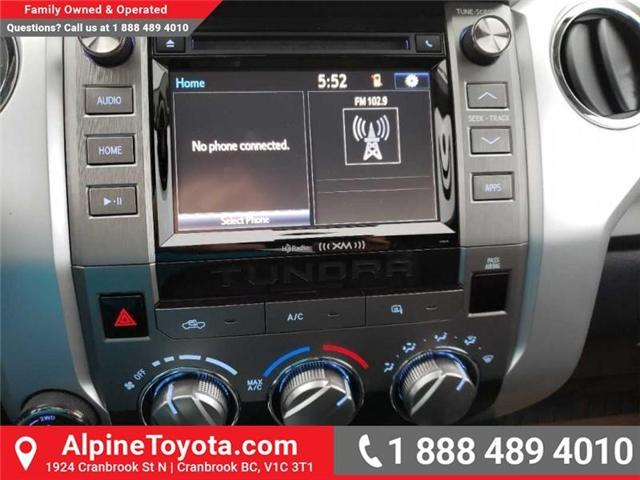 2019 Toyota Tundra SR5 Plus 5.7L V8 (Stk: X810489) in Cranbrook - Image 11 of 14