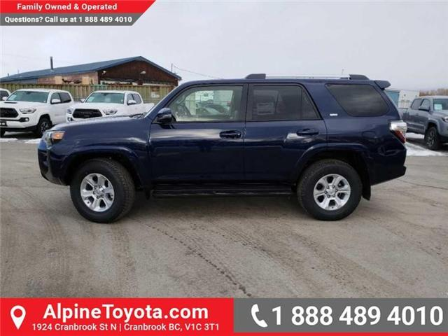 2019 Toyota 4Runner SR5 (Stk: 5654717) in Cranbrook - Image 2 of 18