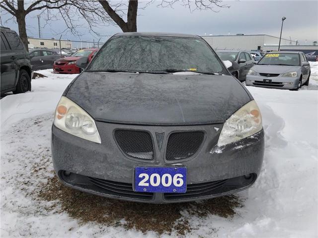 2006 Pontiac G6 4DR SDN SE (Stk: 185489A) in Burlington - Image 2 of 5