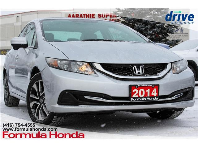 2014 Honda Civic EX (Stk: 19-0668A) in Scarborough - Image 1 of 25
