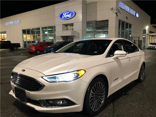 2018 Ford Fusion Hybrid Titanium (Stk: RP1917) in Vancouver - Image 1 of 26
