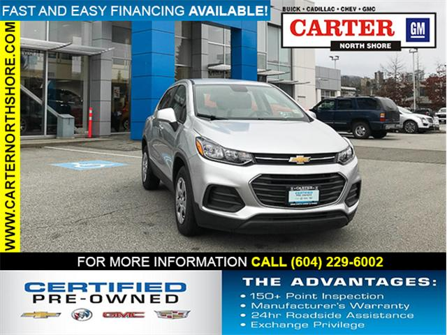 2018 Chevrolet Trax LS (Stk: 971870) in North Vancouver - Image 1 of 26