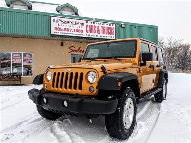 2014 Jeep Wrangler Unlimited Sport (Stk: ) in Bolton - Image 1 of 22