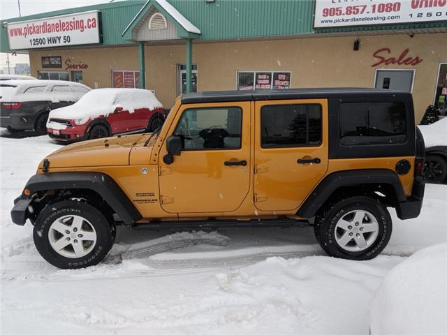 2014 Jeep Wrangler Unlimited Sport (Stk: ) in Bolton - Image 2 of 22