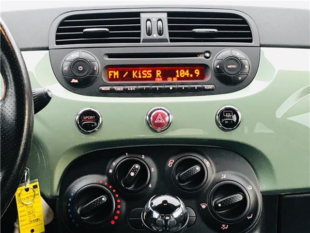 2014 Fiat 500 Sport (Stk: LF008750BA) in Surrey - Image 19 of 29