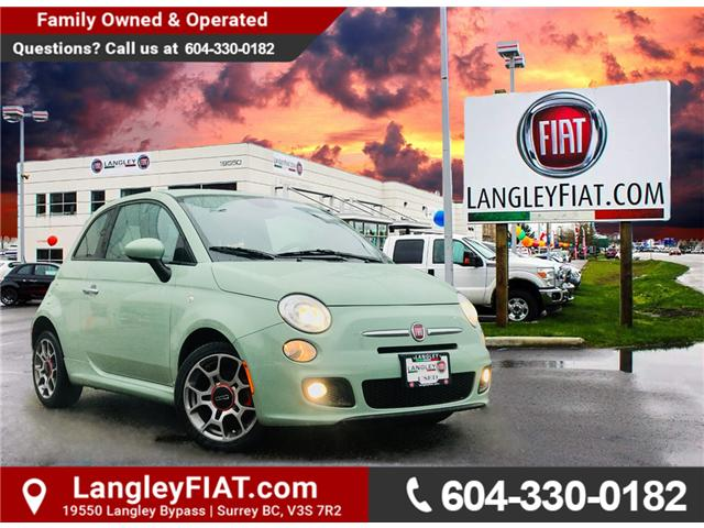 2014 Fiat 500 Sport (Stk: LF008750BA) in Surrey - Image 1 of 29