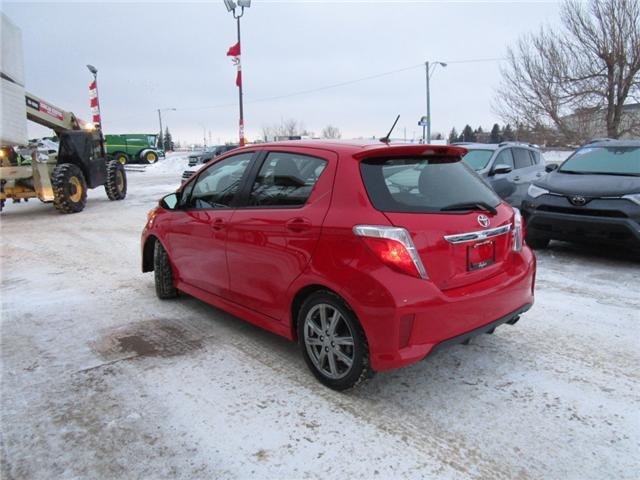 2012 Toyota Yaris SE (Stk: 1990541 ) in Moose Jaw - Image 3 of 22