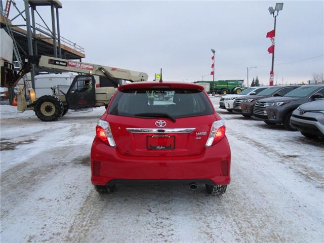 2012 Toyota Yaris SE (Stk: 1990541 ) in Moose Jaw - Image 4 of 22