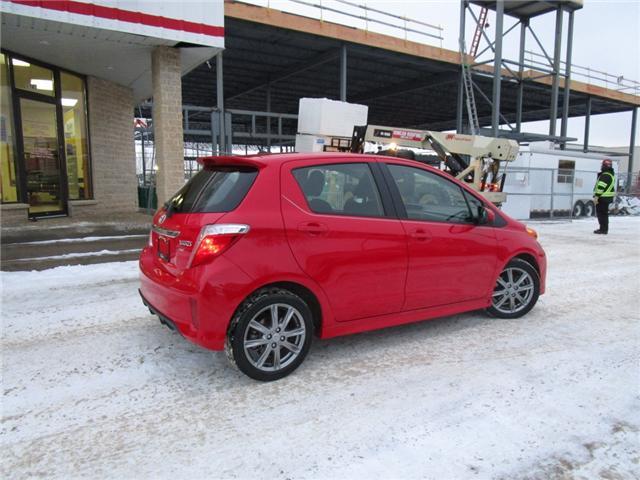 2012 Toyota Yaris SE (Stk: 1990541 ) in Moose Jaw - Image 7 of 22