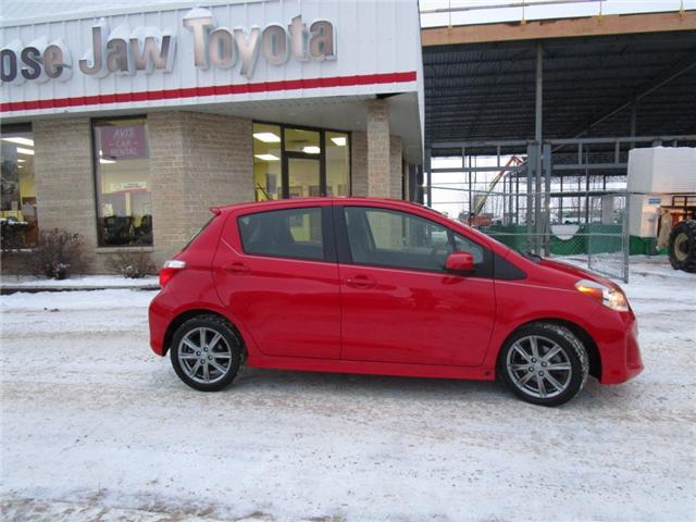 2012 Toyota Yaris SE (Stk: 1990541 ) in Moose Jaw - Image 8 of 22