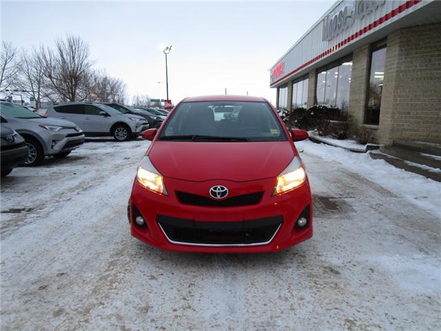 2012 Toyota Yaris SE (Stk: 1990541 ) in Moose Jaw - Image 11 of 22