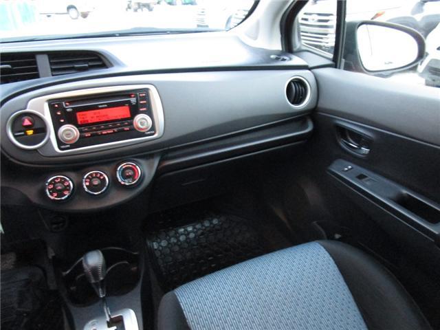 2012 Toyota Yaris SE (Stk: 1990541 ) in Moose Jaw - Image 19 of 22