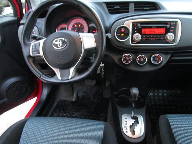2012 Toyota Yaris SE (Stk: 1990541 ) in Moose Jaw - Image 13 of 22