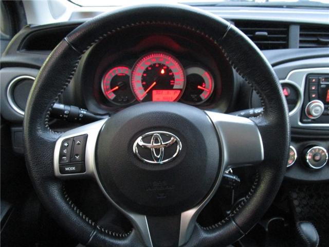2012 Toyota Yaris SE (Stk: 1990541 ) in Moose Jaw - Image 14 of 22