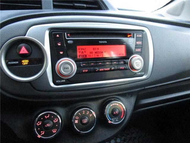 2012 Toyota Yaris SE (Stk: 1990541 ) in Moose Jaw - Image 20 of 22