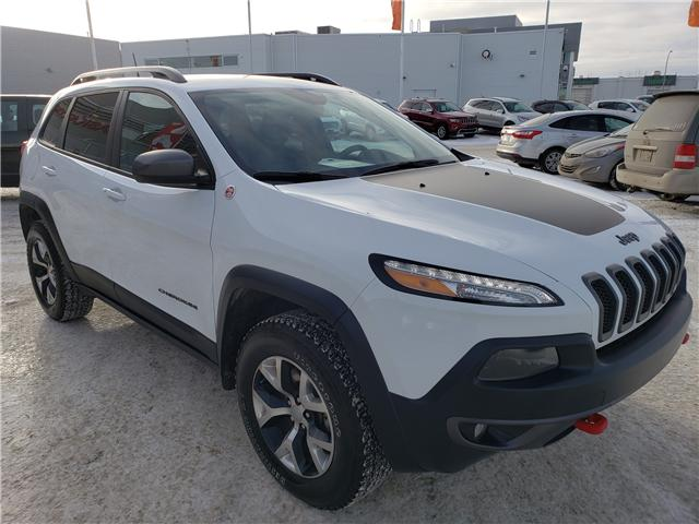 2017 Jeep Cherokee Trailhawk (Stk: 39131A) in Saskatoon - Image 2 of 25