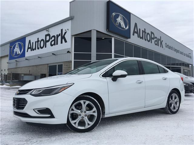 2017 Chevrolet Cruze Premier Auto (Stk: 17-31539RJB) in Barrie - Image 1 of 28