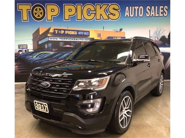 2017 Ford Explorer Sport (Stk: d45321) in NORTH BAY - Image 1 of 29