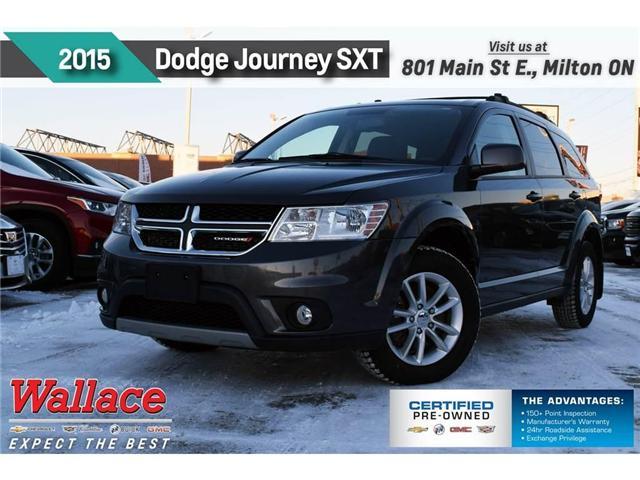2015 Dodge Journey SXT/LOW KM/CLEAN HSTRY/7-SEATER/17S/6-SPEAKR/ (Stk: 261464B) in Milton - Image 1 of 19