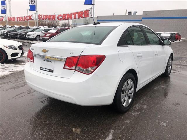 2016 Chevrolet Cruze LT|1LT Limited LT Turbo|Bluetooth| (Stk: PA17797) in BRAMPTON - Image 4 of 17