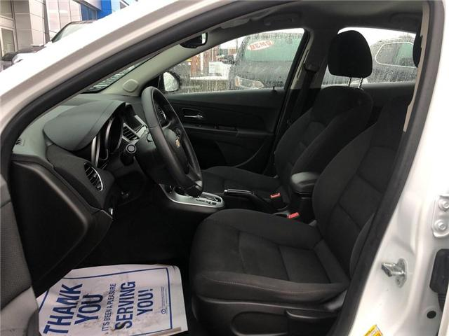 2016 Chevrolet Cruze LT|1LT Limited LT Turbo|Bluetooth| (Stk: PA17797) in BRAMPTON - Image 9 of 17