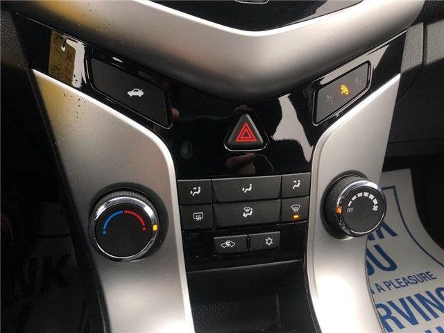 2016 Chevrolet Cruze LT|1LT Limited LT Turbo|Bluetooth| (Stk: PA17797) in BRAMPTON - Image 16 of 17