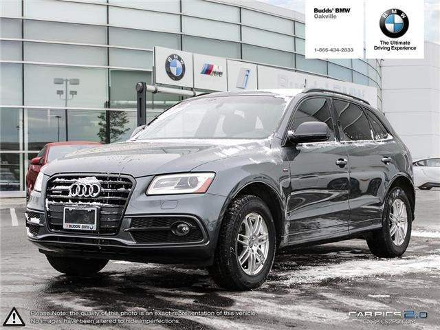 2017 Audi Q5 2.0T Progressiv (Stk: T675085A) in Oakville - Image 1 of 25