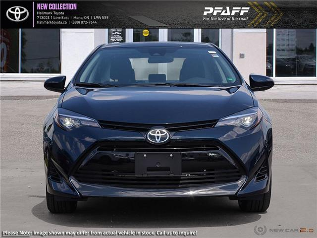 2019 Toyota Corolla 4-door Sedan LE CVTi-S (Stk: H19225) in Orangeville - Image 2 of 24