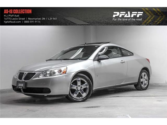 2008 Pontiac G6 GT (Stk: A11823A) in Newmarket - Image 1 of 17