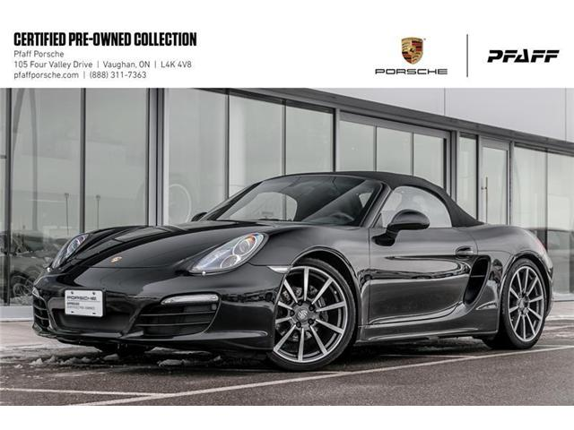 2016 Porsche Boxster Black Edition (Stk: U7662) in Vaughan - Image 1 of 22