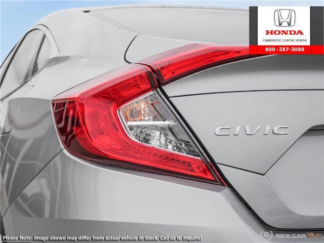 2019 Honda Civic LX (Stk: 19450) in Cambridge - Image 11 of 24