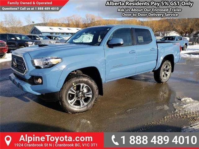 2019 Toyota Tacoma TRD Sport (Stk: X178543) in Cranbrook - Image 1 of 16