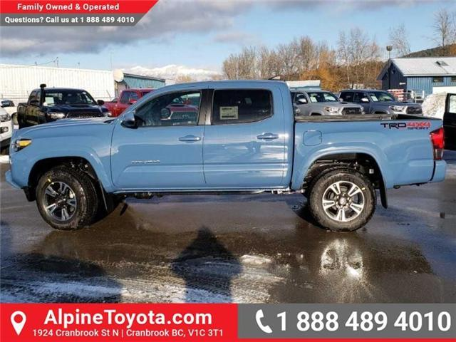 2019 Toyota Tacoma TRD Sport (Stk: X178543) in Cranbrook - Image 2 of 16