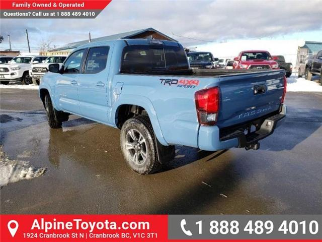 2019 Toyota Tacoma TRD Sport (Stk: X178543) in Cranbrook - Image 3 of 16