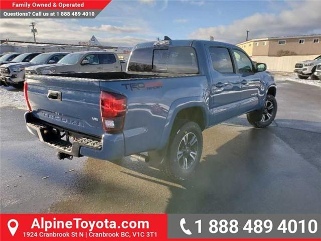 2019 Toyota Tacoma TRD Sport (Stk: X178543) in Cranbrook - Image 5 of 16