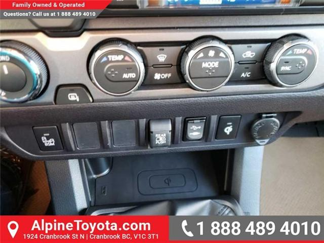 2019 Toyota Tacoma TRD Sport (Stk: X178543) in Cranbrook - Image 13 of 16