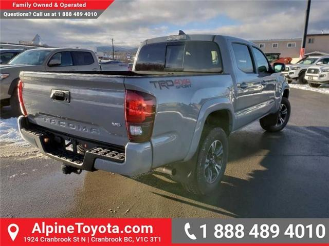 2019 Toyota Tacoma TRD Sport (Stk: X177411) in Cranbrook - Image 5 of 16