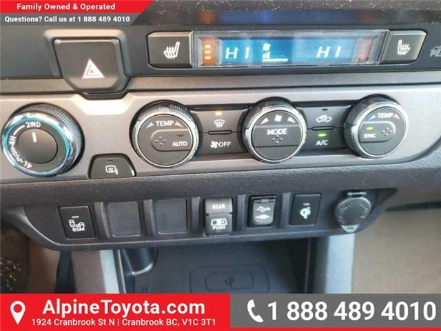 2019 Toyota Tacoma TRD Sport (Stk: X177411) in Cranbrook - Image 13 of 16