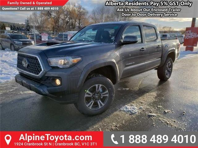 2019 Toyota Tacoma TRD Sport (Stk: X179485) in Cranbrook - Image 1 of 16