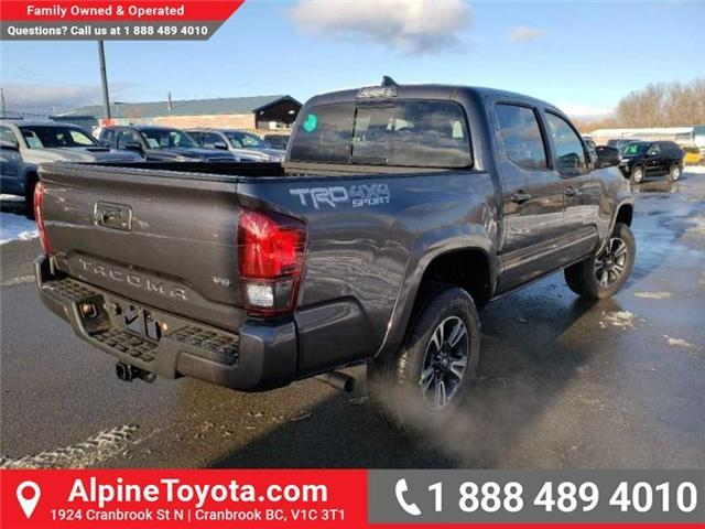 2019 Toyota Tacoma TRD Sport (Stk: X179485) in Cranbrook - Image 5 of 16