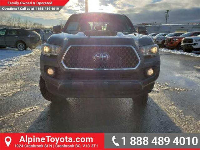 2019 Toyota Tacoma TRD Sport (Stk: X179485) in Cranbrook - Image 8 of 16